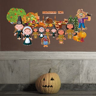 Thanksgiving Wall Decal Set
