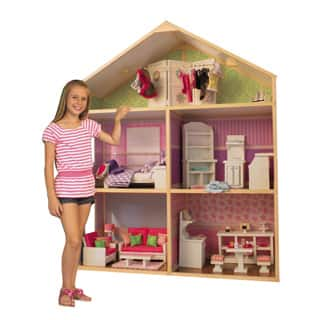 Wicked Cool Toys My Girl's Dollie and Me Dollhouse|https://ak1.ostkcdn.com/images/products/P17545039db.jpg?impolicy=medium
