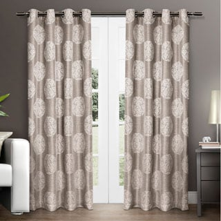 ATI Home Akola Grommet Top Curtain Panel Pair