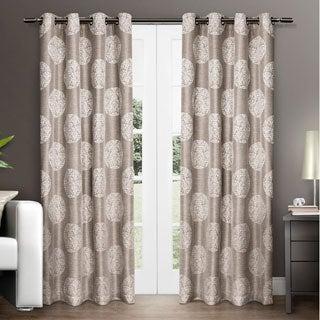 ATI Home Akola Grommet Top Curtain Panel Pair