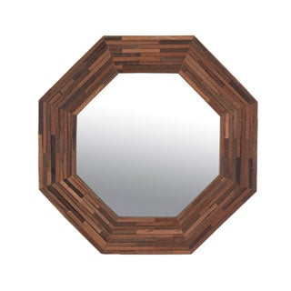 Small Florence Wooden Accent Mirror