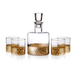 Fitz and Floyd Daphne 5-piece Whiskey Set|https://ak1.ostkcdn.com/images/products/P17551740a.jpg?impolicy=medium