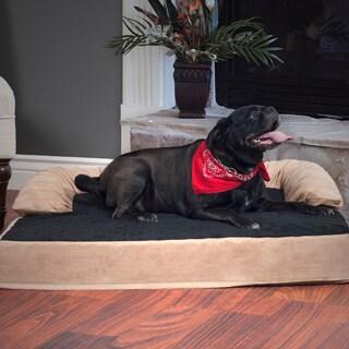 "PAW Orthopedic Memory & Orthopedic 5"" Foam Pet Bed with Bolster"