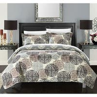 The Curated Nomad Stanyan 3-piece Printed Reversible Quilt Set