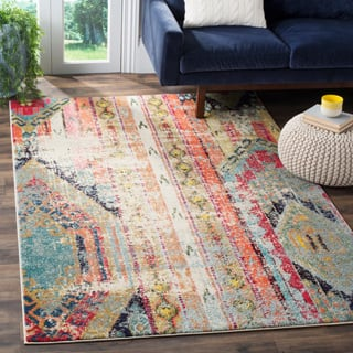 Safavieh Monaco Vintage Bohemian Multicolored Distressed Rug (4' x 5'7)|https://ak1.ostkcdn.com/images/products/P17556467a.jpg?impolicy=medium