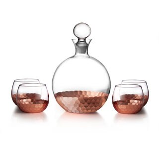 Fitz and Floyd Daphne 5-piece Decanter Set