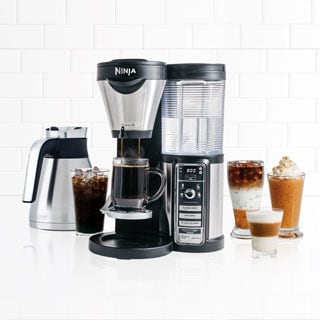 Ninja CF086 Coffee Bar Brewer with Milk Frother