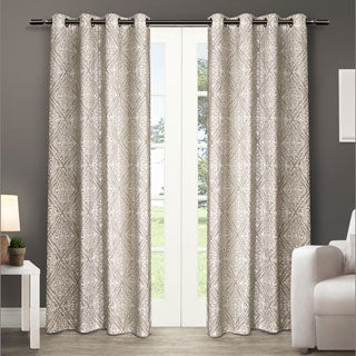 ATI Home Sira Grommet Top Curtain Panel Pair