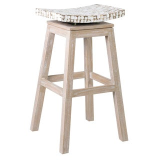 East At Main's Welland Casual Off-white Barstool
