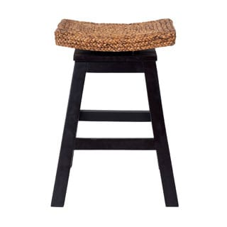 Prairie Casual Brown Textured Barstool