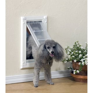 Endura Flap Single Flap Pet Door for Walls Plus $20 Mail-In Rebate