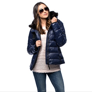 S13/NYC Wen's Quilted Down Jacket