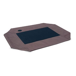 Go Pet Club Black Elevated Cooling Pet Bed Cot Free