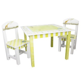 Fantasy Fields Alphabet 3-piece Kid's Table Set