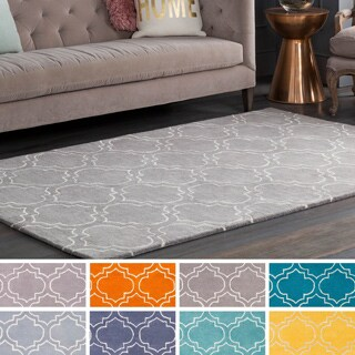 Hand-Tufted Langport Wool Rug (7'6 x 9'6)