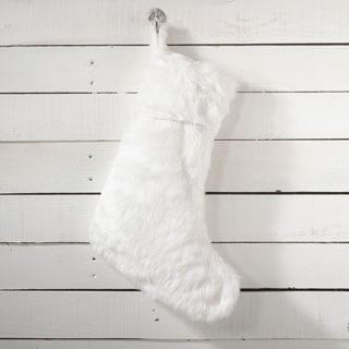 Faux Fur Stocking Design