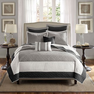 Madison Park Liverpool 7-Piece Coverlet Set
