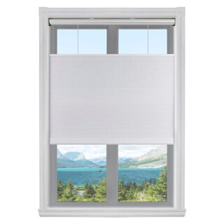 Arlo Blinds White Light Filtering Top-Down Bottom-up Cordless Cellular Shade (More options available)