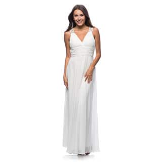 DFI Women's Evening Gown V-Neck|https://ak1.ostkcdn.com/images/products/P17619970Z.jpg?impolicy=medium
