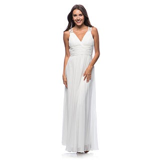 DFI Women's Evening Gown V-Neck