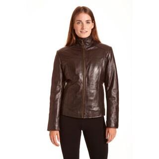 Excelled Women's Lambskin Leather Scuba