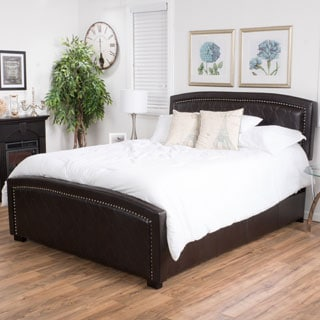 Venus Full-size Bonded Leather Bed Set by Christopher Knight Home
