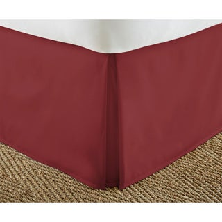 Merit Linens Premium 14-inch Drop Pleated Bed Skirt