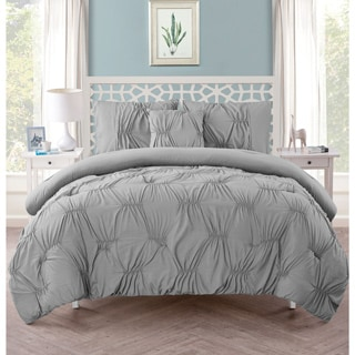 VCNY Marchella Gathered 4-piece Comforter Set