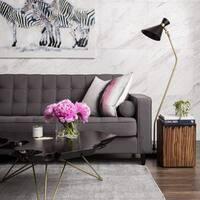 Aurelle Home Classic Mid Century Modern Jack Floor Lamp