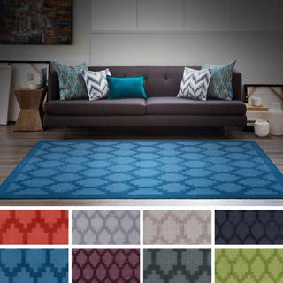 Hand-Loomed Hatfield Wool Rug (9' x 12') (Option: Navy)|https://ak1.ostkcdn.com/images/products/P17650826p.jpg?impolicy=medium