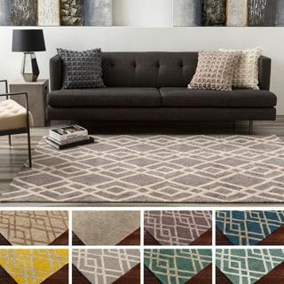 Hand-Tufted Keynsham Wool Rug (5' x 7'6)