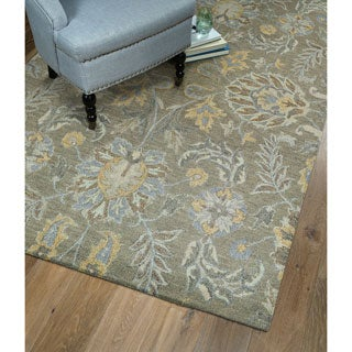 Christopher Agra Sage Hand-Tufted Rug (10'0 x 14'0)