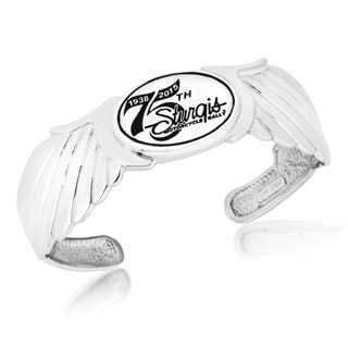 Sterling Silver 75th Sturgis Rally Cuff Bracelet