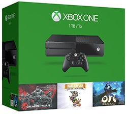 Microsoft Xbox One 1TB Holiday Bundle