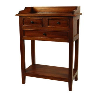 Raleigh Natural Finished Mahogany Dresser