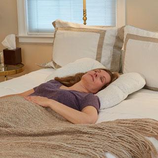 Back Sleeper Orthopedic Neck Pillow
