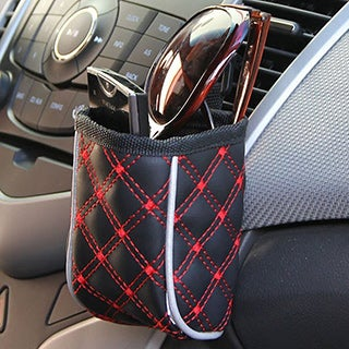 Mini Clip-on Front Seat Organizer Cell Phone Holder