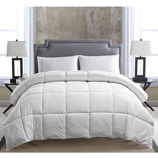 VCNY Greek Key Down Alternative Hypoallergenic Comforter
