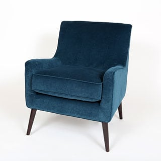 Porter Kristina Ocean Blue Accent Chair