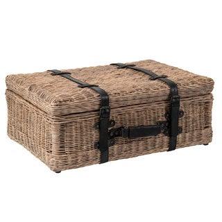 Amelia Rattan Suitcase