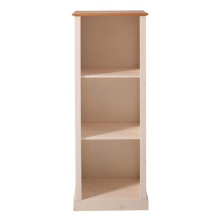 Scandinavian Lifestyle Chicago Solid Pine Bookcase