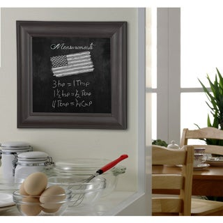 American Made Rayne Brazilian Walnut Blackboard/Chalkboard