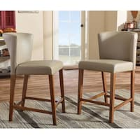 Shop Set Of 2 Lavin Mid Century Solid Wood Dining Chair