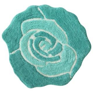 Jessica Simpson Bloom Shaped Bath rug 26x28.