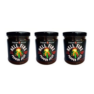 Jenkins Jellies 'H*ll Fire' Pepper Jelly Trio (Set of 3)