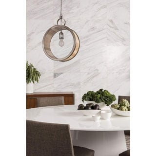 Aurelle Home Cane 1-light Bronze Hanging Pendant Light