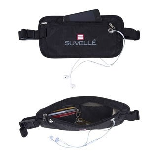 Suvelle RFID-Blocking Anti-Theft Hidden Waist Belt Travel Pouch