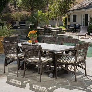 Christopher Knight Home Elliana Outdoor 6-piece Picnic Dining Set