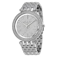 Michael Kors Women's MK3437 Darci Crystal Pave Dial Stianless Steel Bracelet Watch