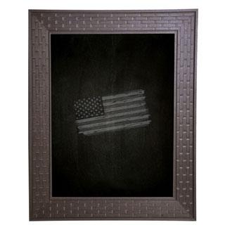 American Made Rayne Espresso Bricks Blackboard/Chalkboard